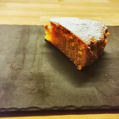 Torta senza glutine pere e cannella